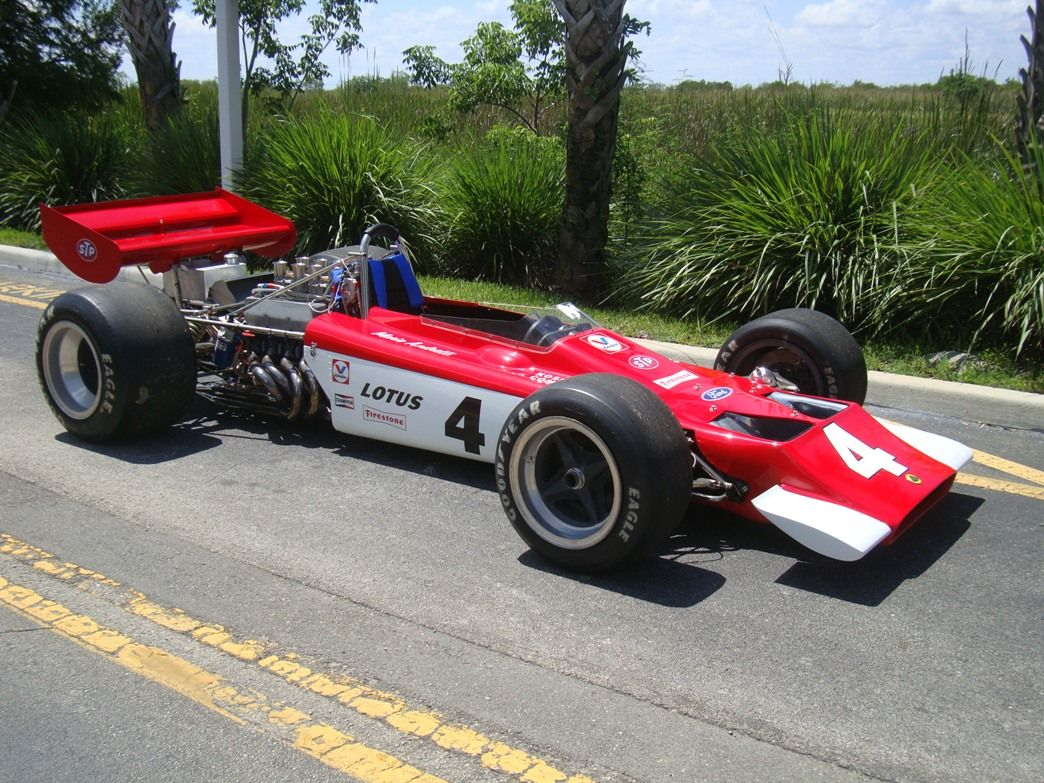 "Lawrence Hall Chevrolet >> Sold Cars 1969 Lotus 70 F5000 ""Mario Andretti"" Sebring 1969 