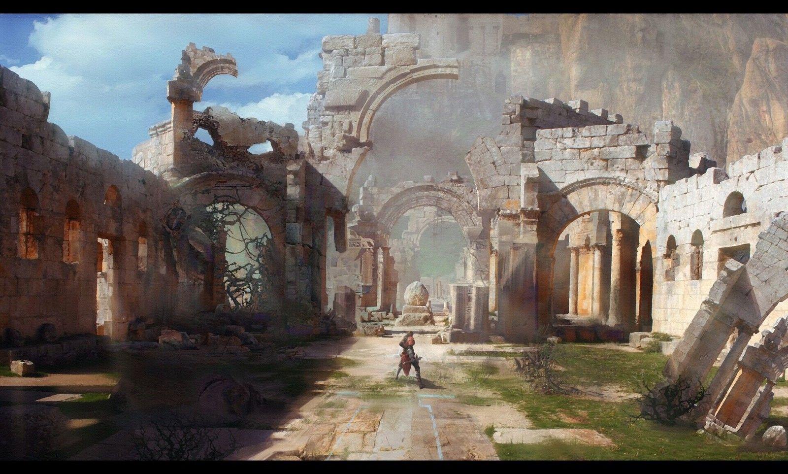 Castlevania, Li Ming on ArtStation at https://www.artstation.com/artwork/Lg3LA