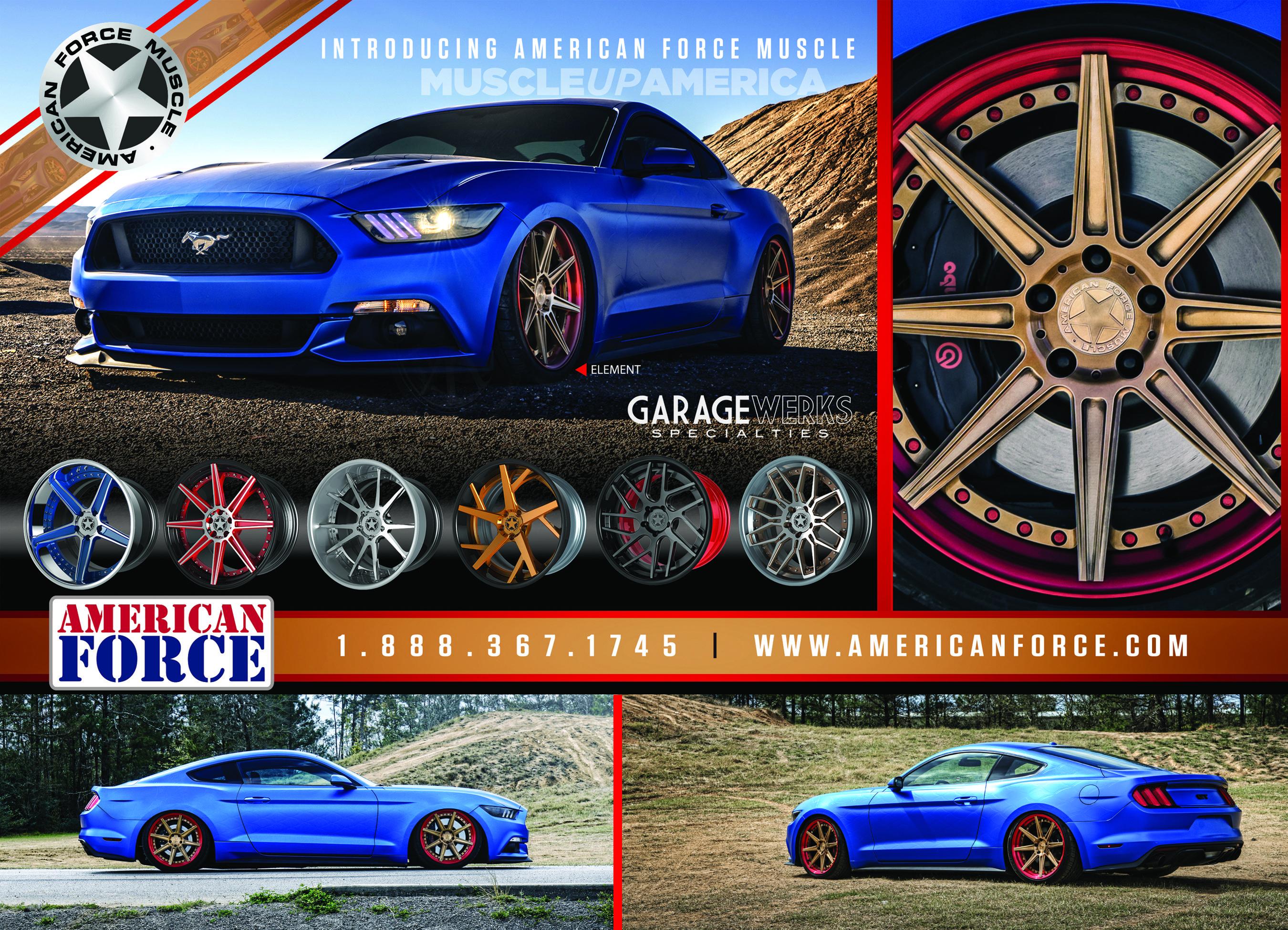 American Force Muscle Custom Forged Wheels Americanforcewheels