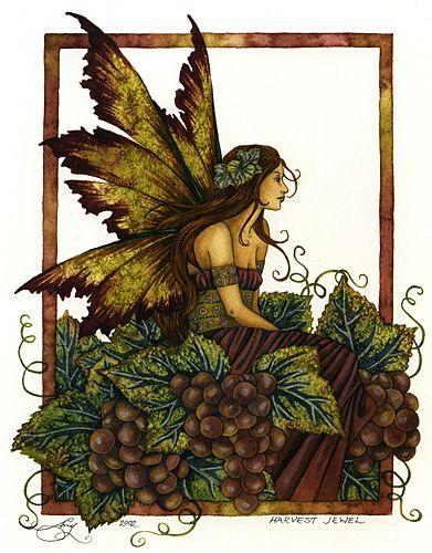Pine cone fairies | Vintage book art, Vintage fairies