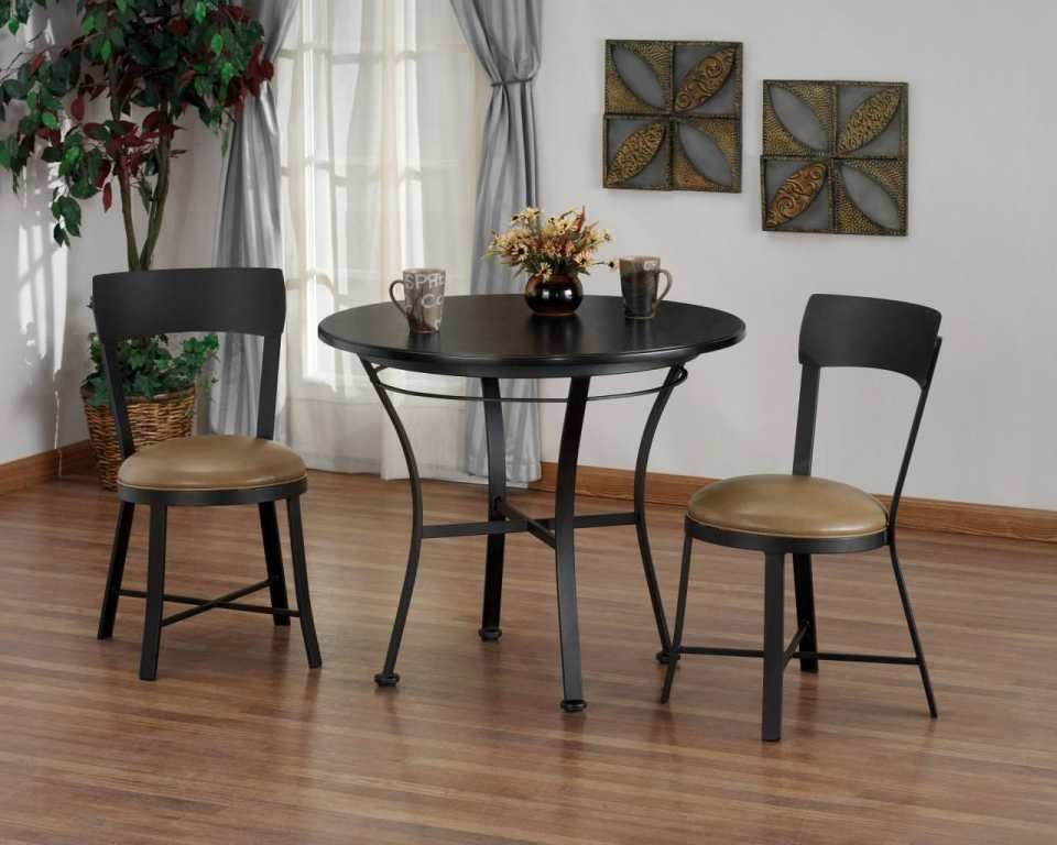 Bistro Tisch Und Stuhle Innen Kuchentisch Rund Kuche Tisch Und