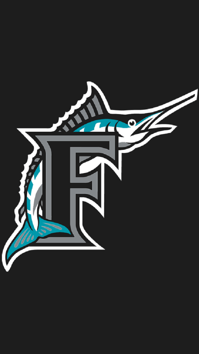 Florida Marlins 1993 Miami Dolphins Logo Marlins Baseball Mlb Logos