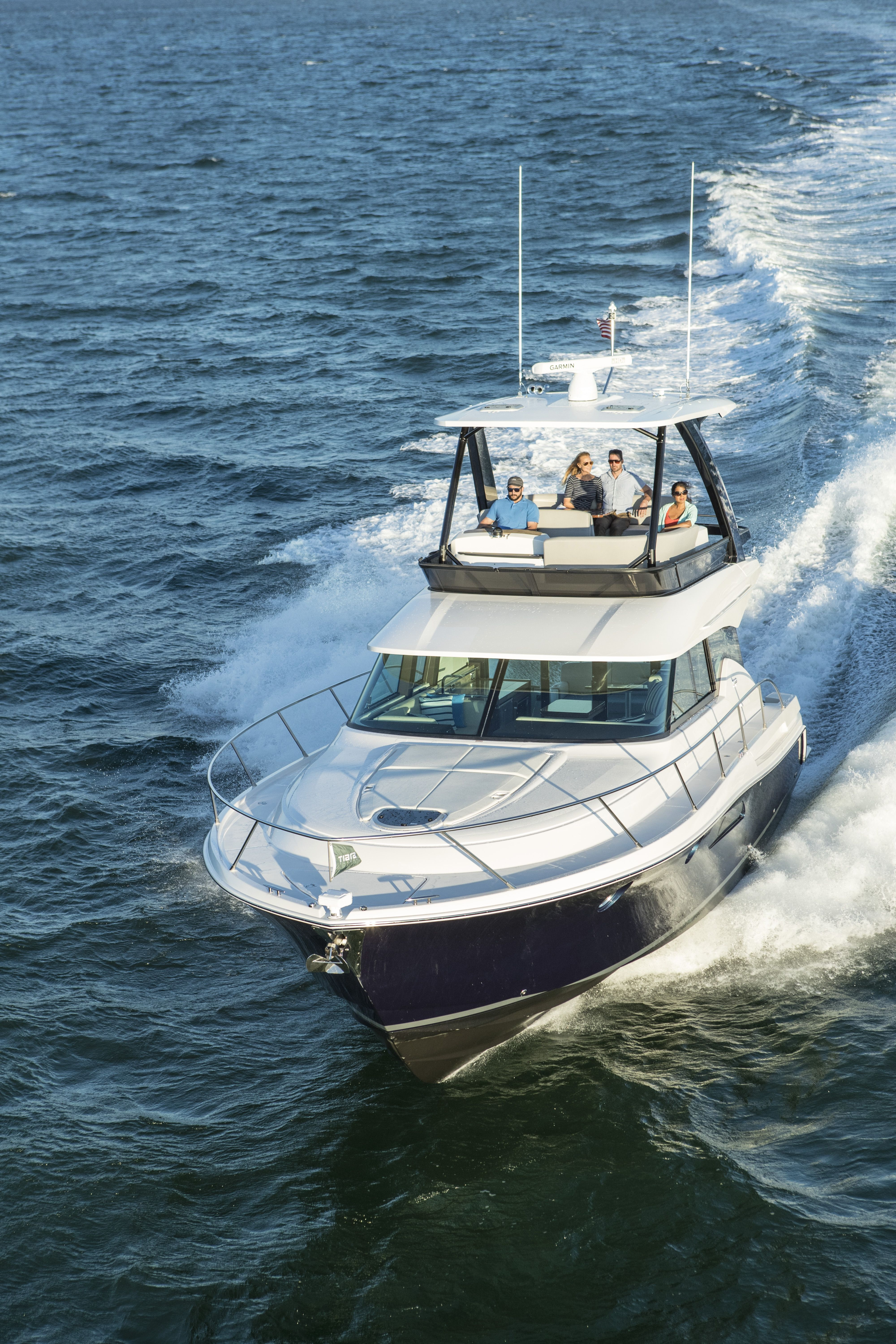 F44 oyster harbors marine marine boat top of the world