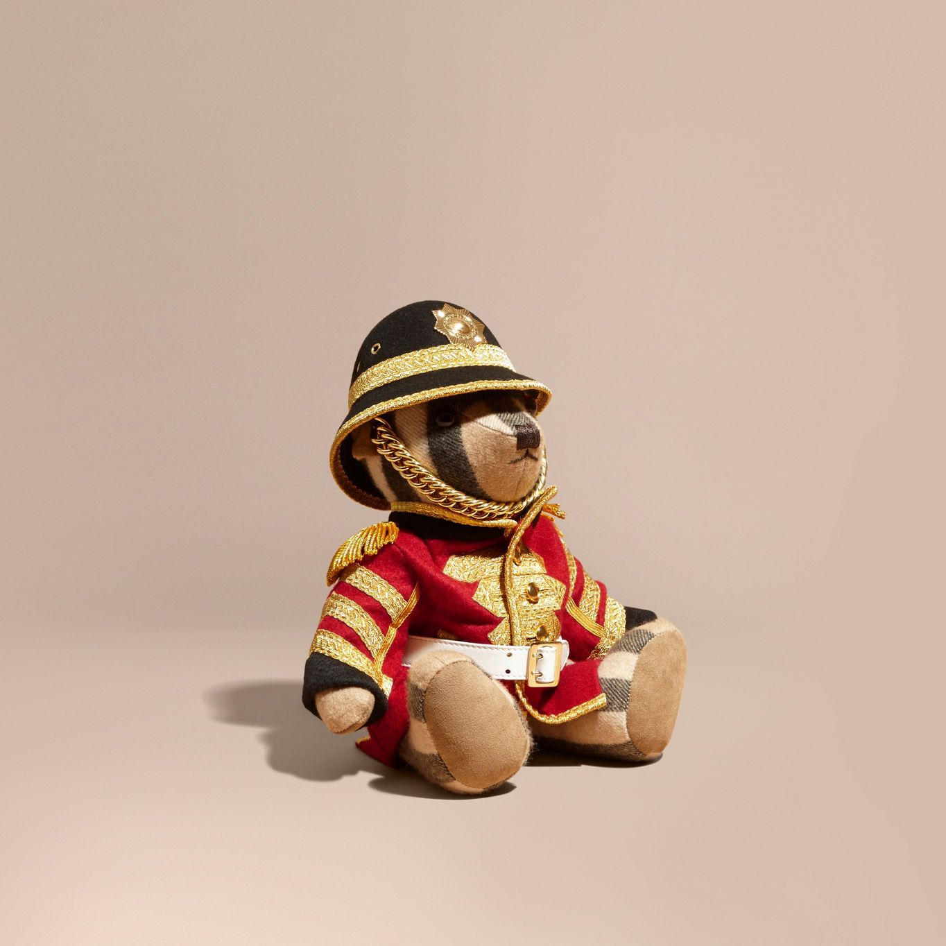 5de495663c8ec Burberry Regimental Thomas Bear in Check Cashmere 1695 EUR.