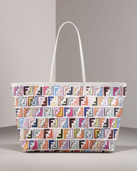 Women s Zucca-print Canvas Tote  ebfb57bed3b74