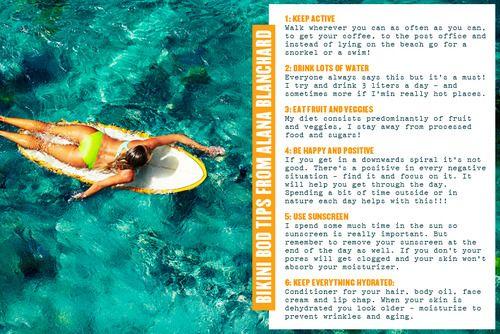 Bikini Bod Tips From Alana Blanchard