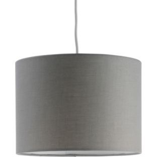 Buy colourmatch drum shade smoke grey at argos your online buy colourmatch drum shade smoke grey at argos your online aloadofball Image collections