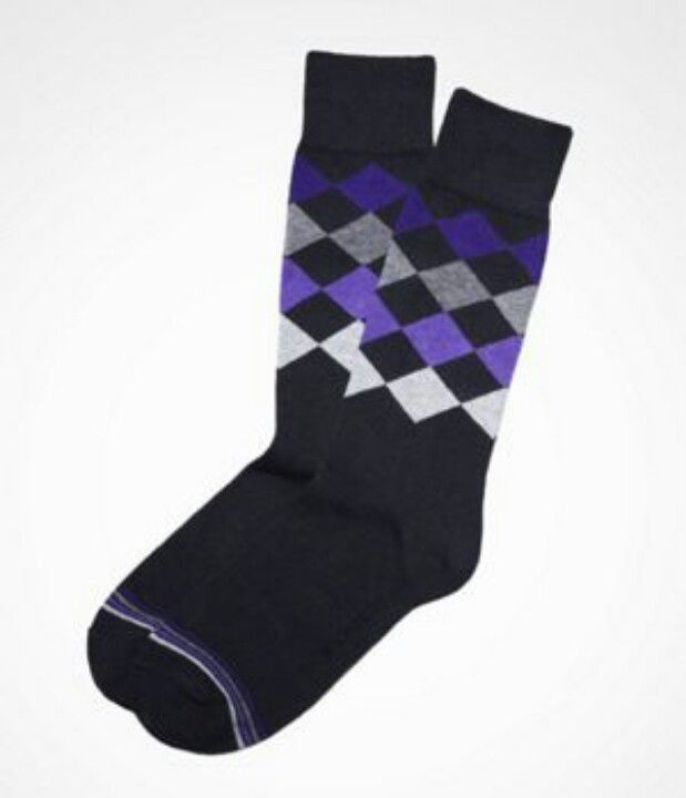 EXPRESS - DIAMOND ARGYLE DRESS SOCKS