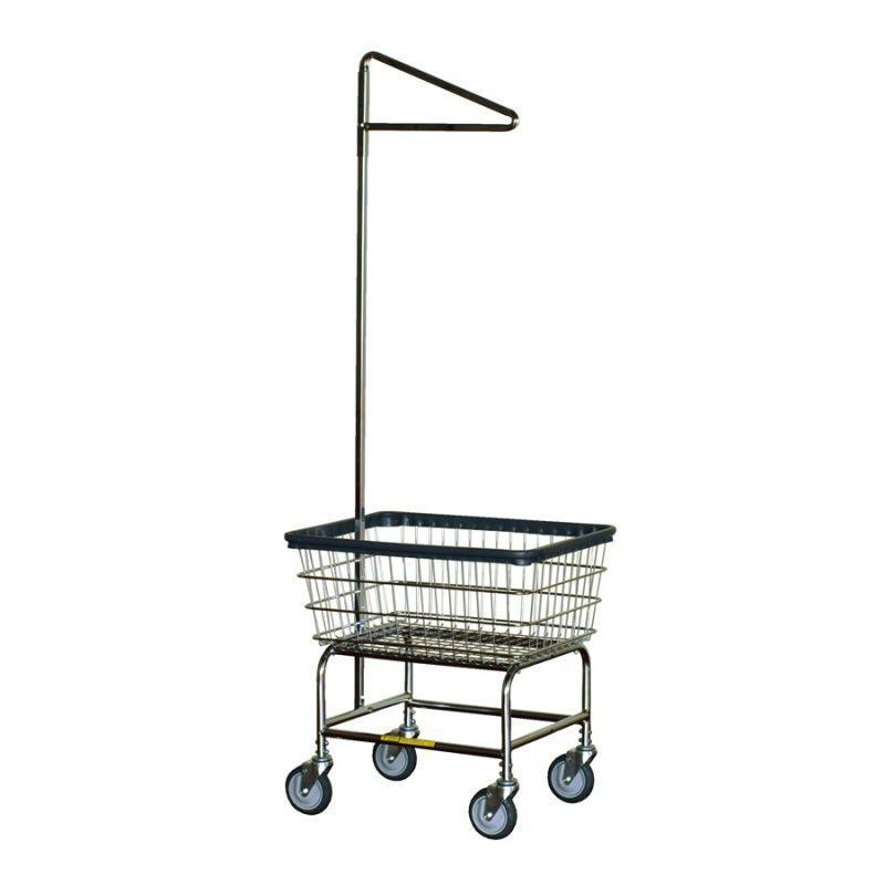Laundry Cart Single Pole Laundry Cart Metal Products Cart