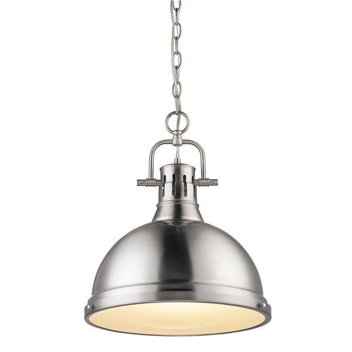 Balden 1 Light Single Dome Pendant Pendant Lighting