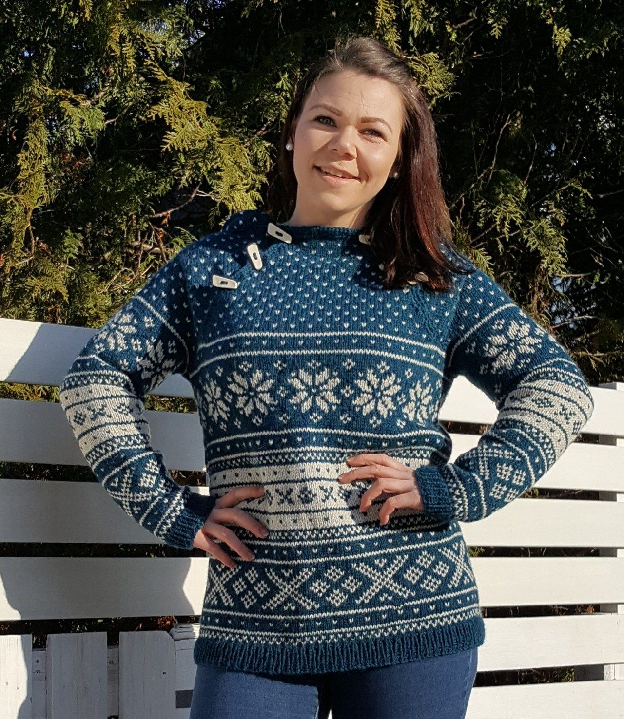 Snøhetta anorakk og genser til barn | Strikkoteket | Sy