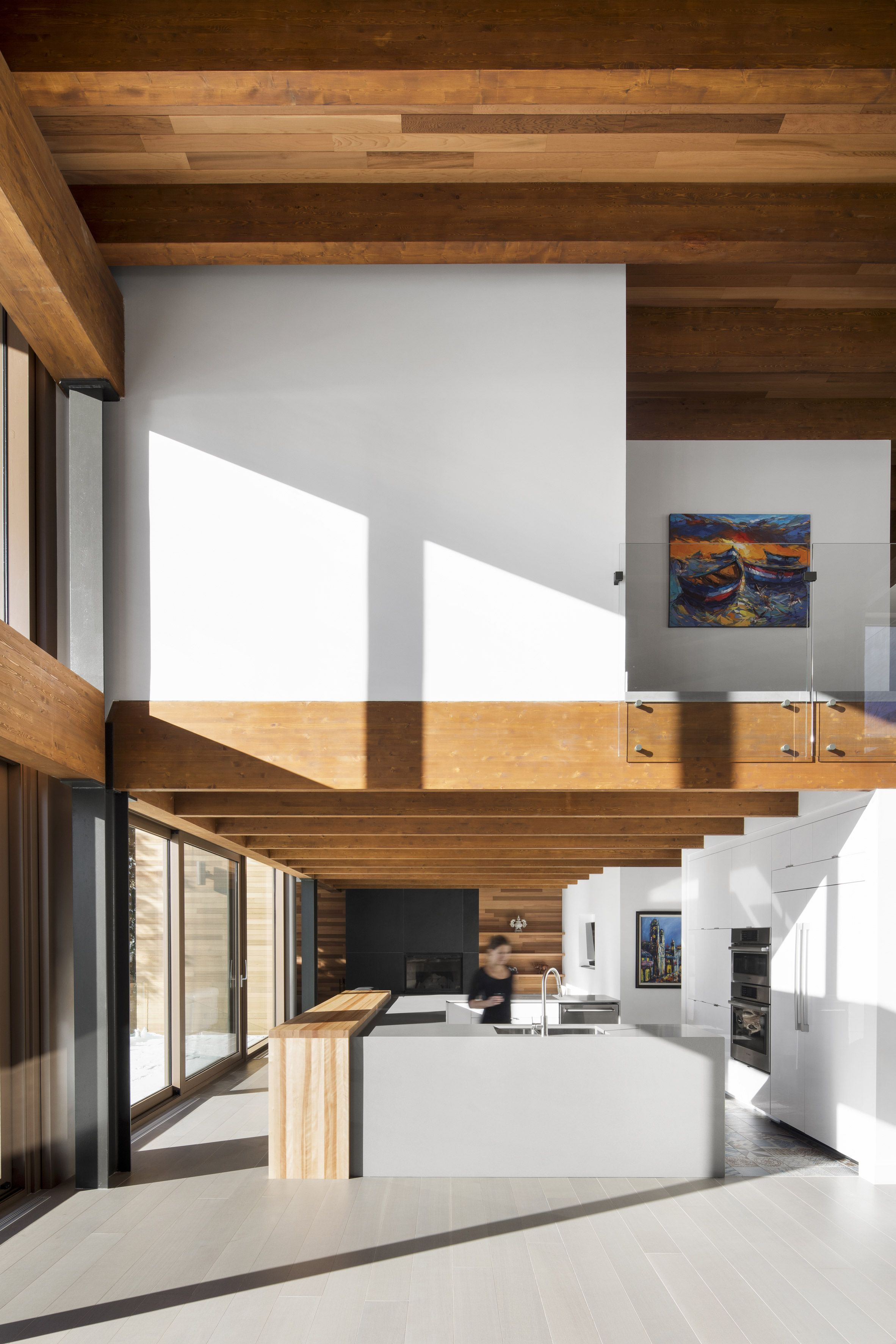 The L Accostee Home Was Built Above The Foundations Of An Existing