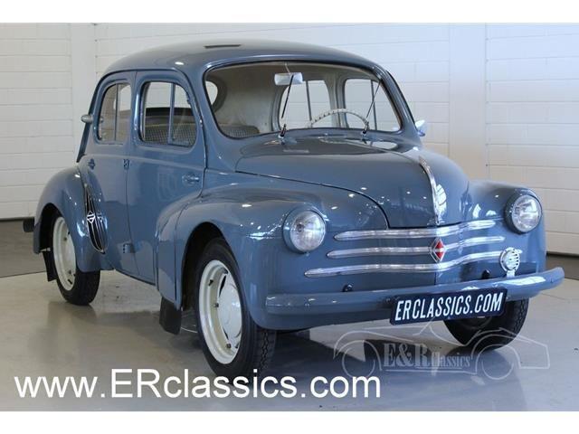 Renault 4 Cv Sedan 1956 In Prachtige Originele Staat Overzicht Auto Trader Auto Klassieke Auto S Klassieker