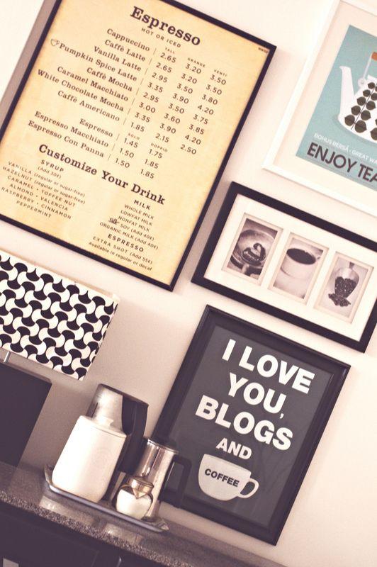 Decor8 Blog Archive An Inspiring Family Apartment Cafe Decor Home Coffee Stations Cafe Design