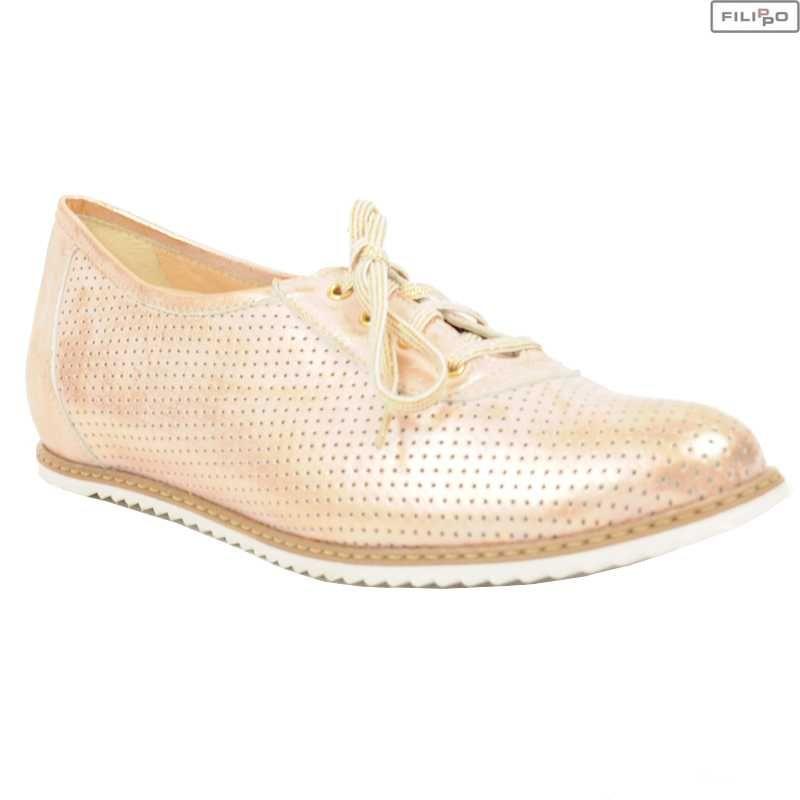 Polbuty Eksbut 26 3938 G59 F71 1g Bialy Roz Lico 8023537 Polbuty I Mokasyny Buty Damskie Kolekcja Premium Filippo Pl Pink Shoes Dress Shoes Men Shoes