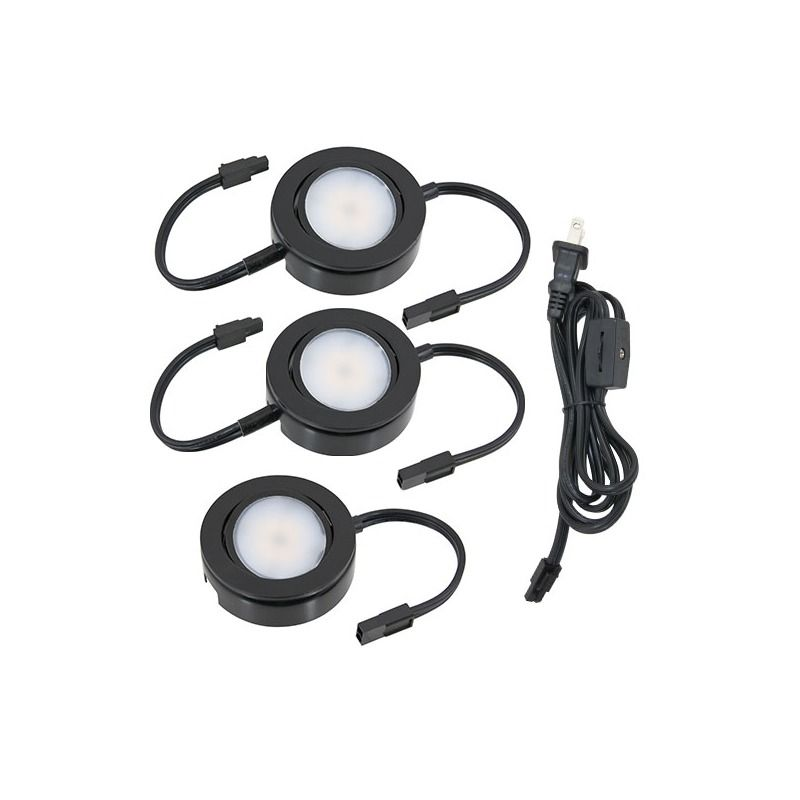 3 light kit led mvp line voltage puck light mvp 3 puck lights and kit led mvp line voltage puck light puck lights under cabinet puck lighting low voltage recessed hardwire dimmable mozeypictures Gallery