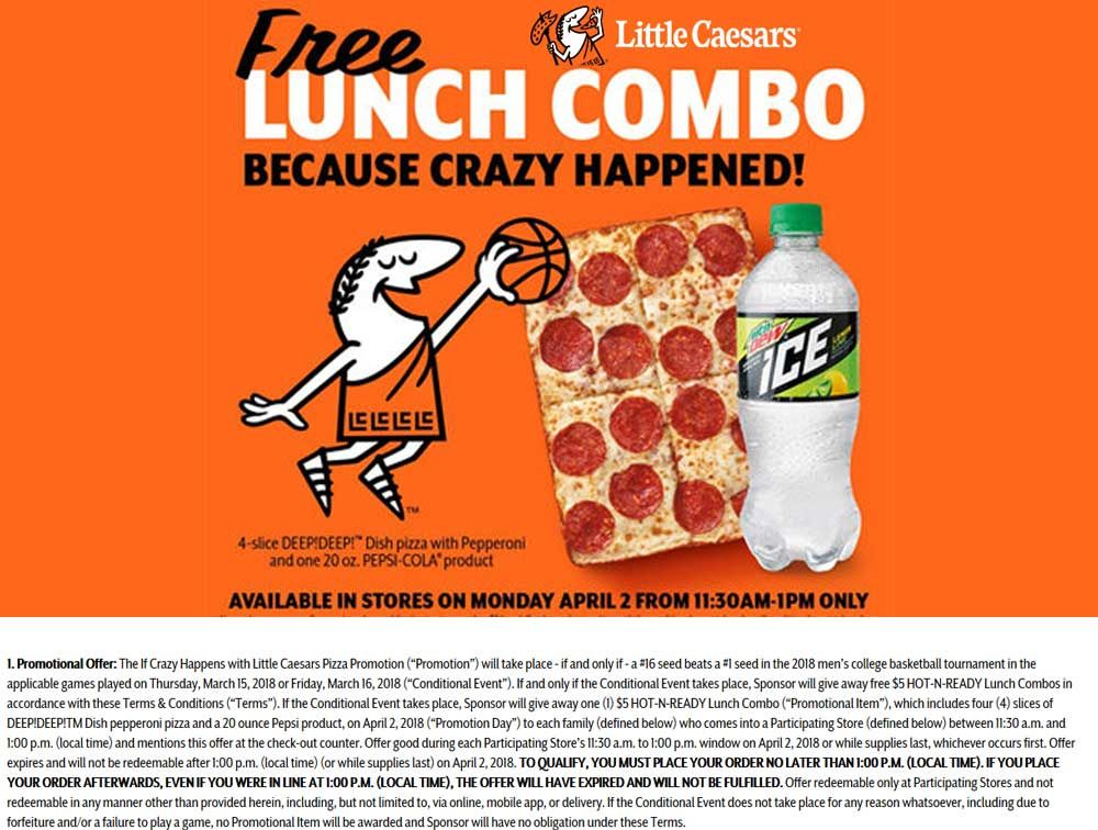 Little Caesars 🆓 Coupons & Shopping Deals! Shopping