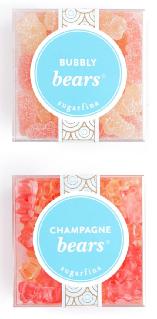 Delicious gummy bears