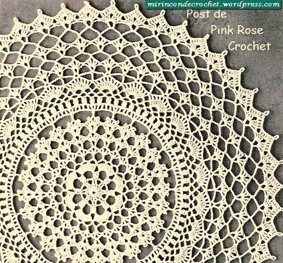 Free Crochet Doily Patterns Crafts Pinterest Crochet Crochet