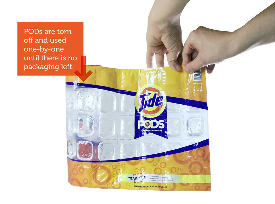 5 Clever Product Packages That Dissolve After Use Tide Pods