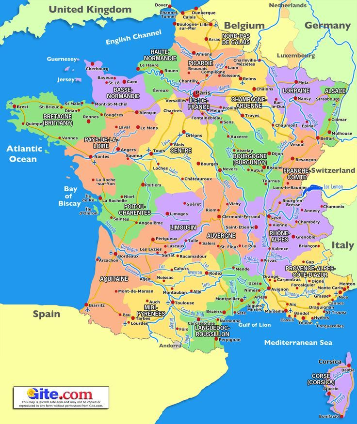 Country Of Spain Map.Map Of The Providence Provincials Of France Next Country Spain