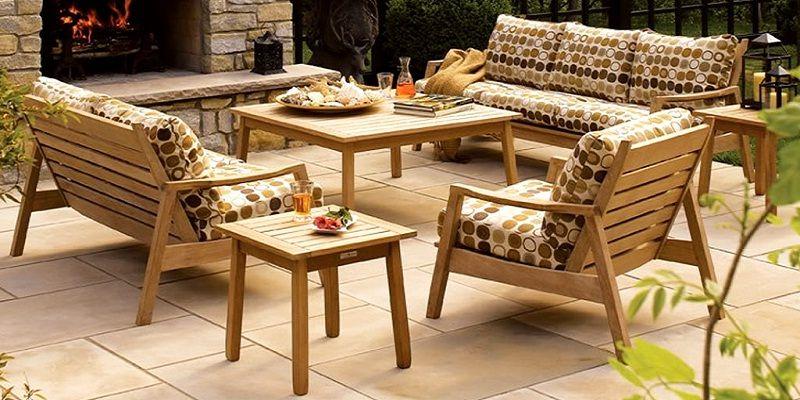 Outdoor Teak Sofa Set Sofa Design Ideas Pinterest