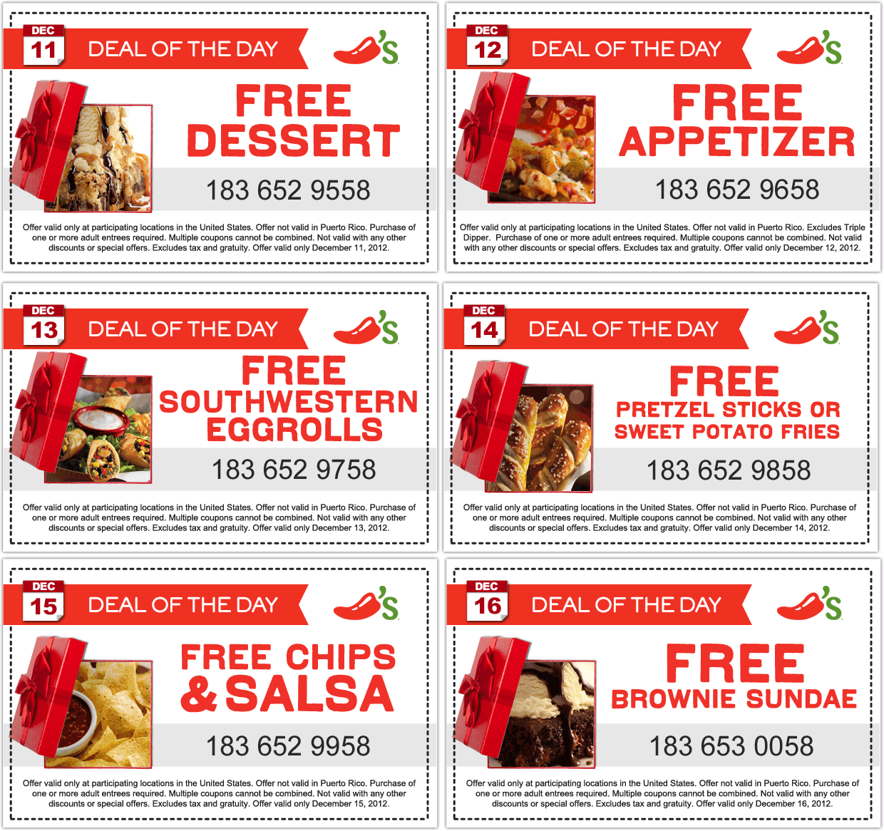 Discount restaurant coupons