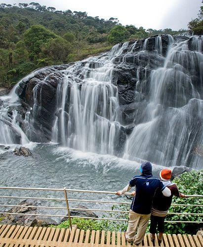 Baker S Fall Horton Plains National Park Sri Lanka Www