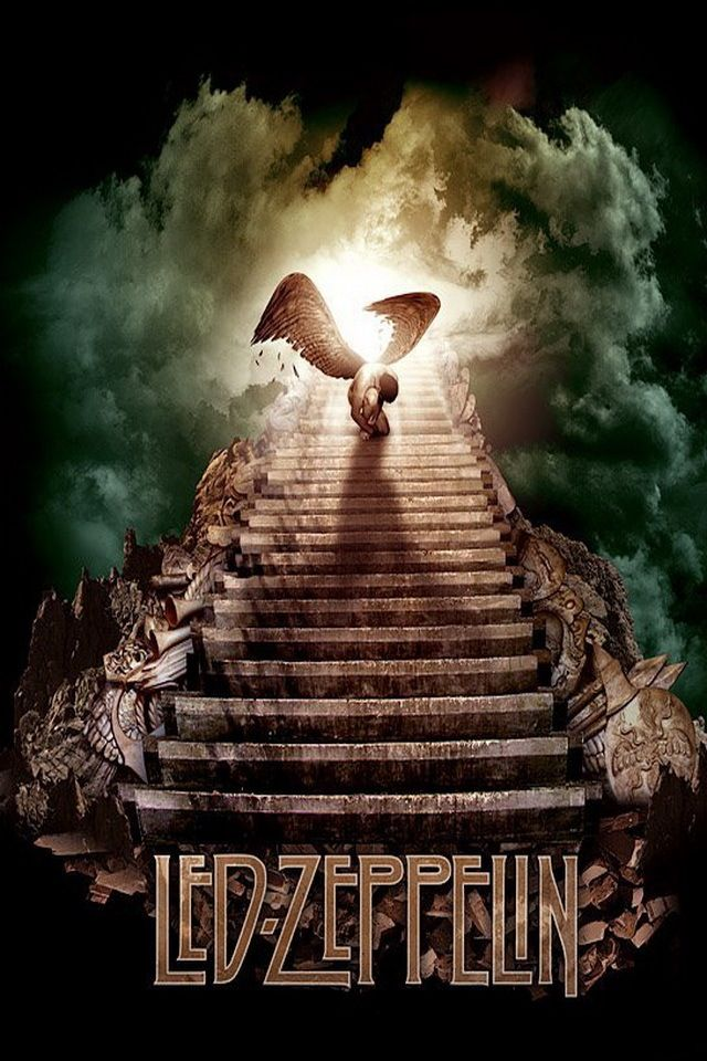 Fallen Angel Iphone Background Led Zeppelin Wallpaper Heaven Music Stairway To Heaven
