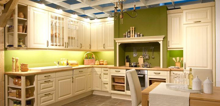 klassische Küche grün Haus Pinterest Küche grün, Klassisch - alte küche neu gestalten