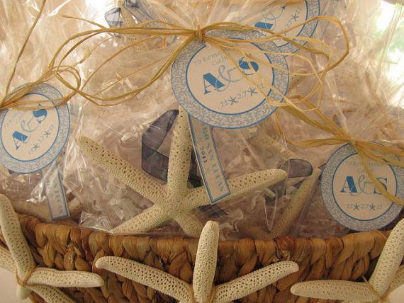 Beach Wedding Starfish Wedding Favors By PinkPelicanDesigns 600