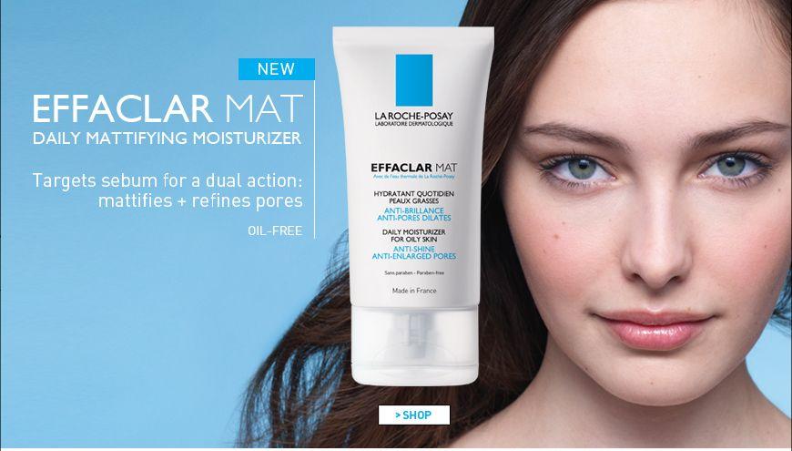 New La Roche Posay Effaclar Mat Moisturizer Daily Moisturizer Moisturizer For Oily Skin