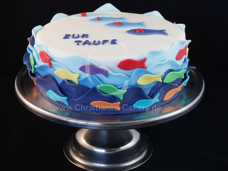 Tortengalerie Christianes Cakery Taufe Kuchen Torten