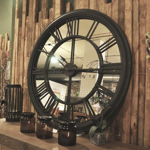 Annie Mo 39 S Home Accessories Clocks Mirror Backed