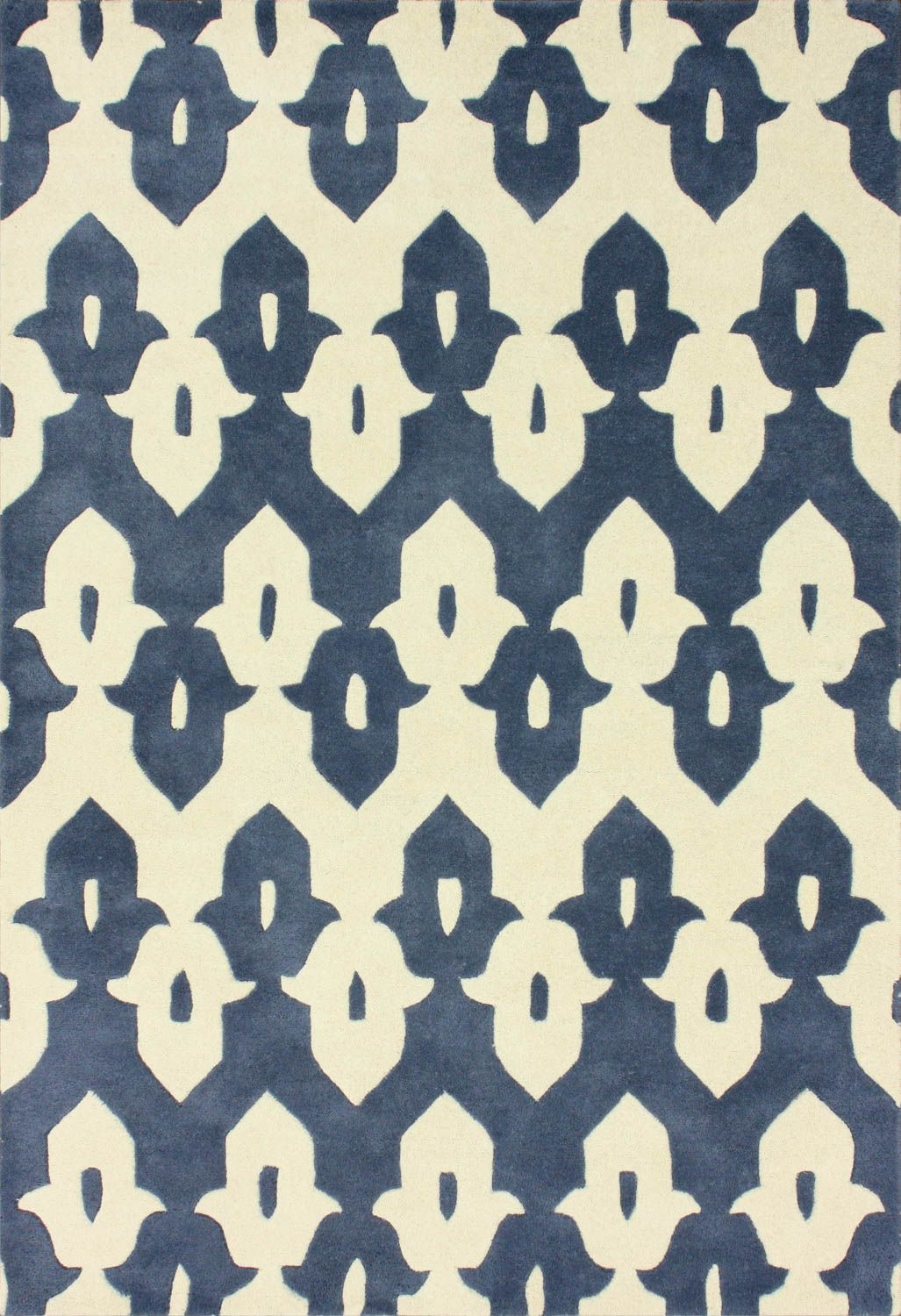 royal blue rug. Rugs USA Tuscan Palace Ikat Trellis Cobalt Blue Rug - 5x8 $115.25, 6x9 $145.75, Royal