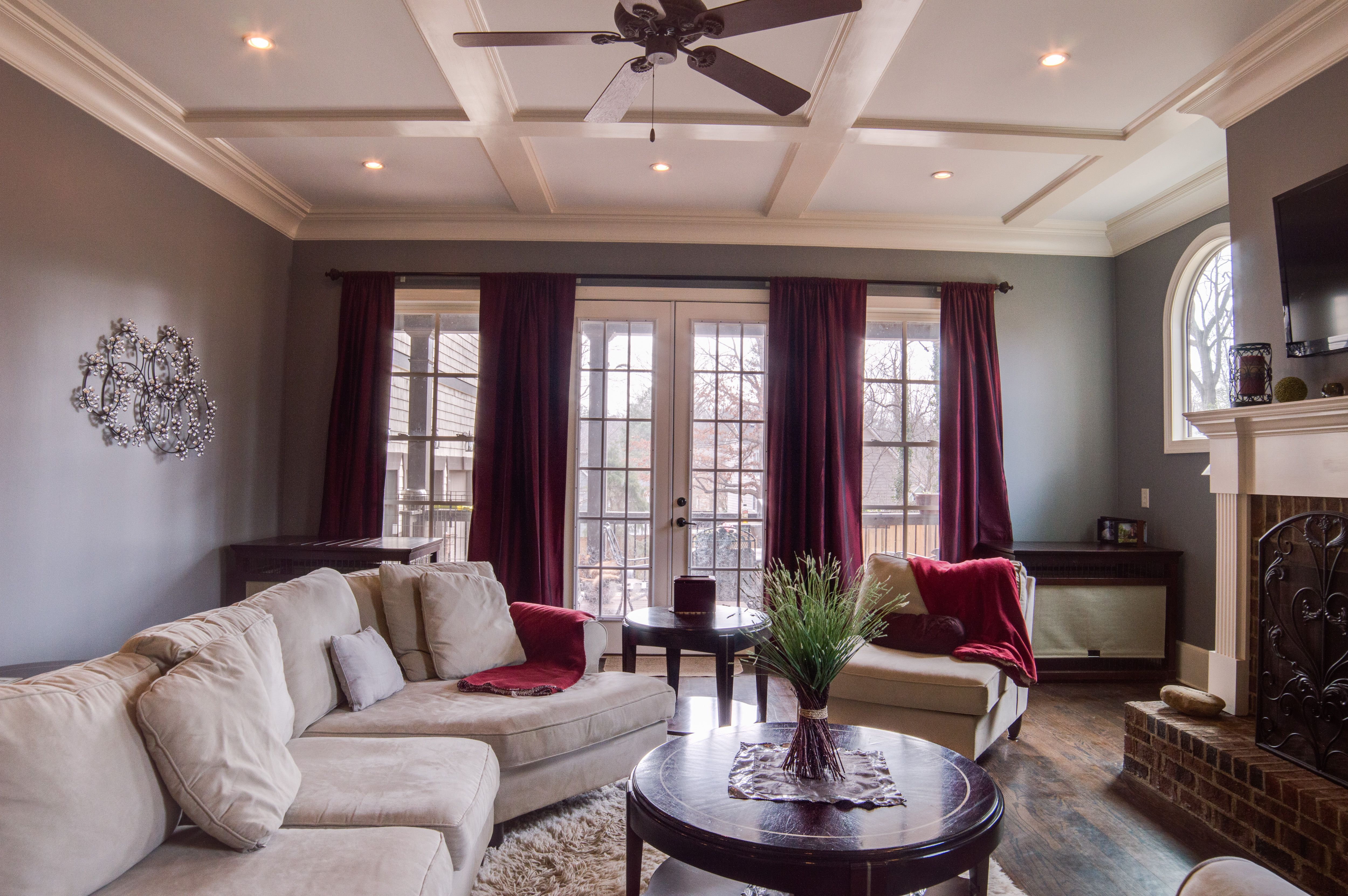 I recently photographed this Brookhaven living room