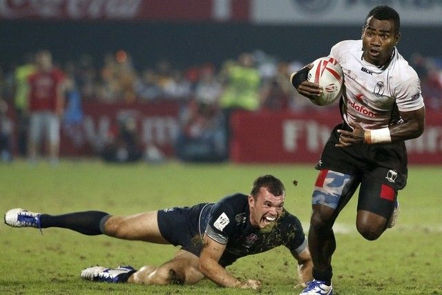 Led By Jerry Tuwai World Class Fiji Are Too Strong For England In Dubai Rugby Sevens Final The National Rugby Sevens Rugby Final Rugby