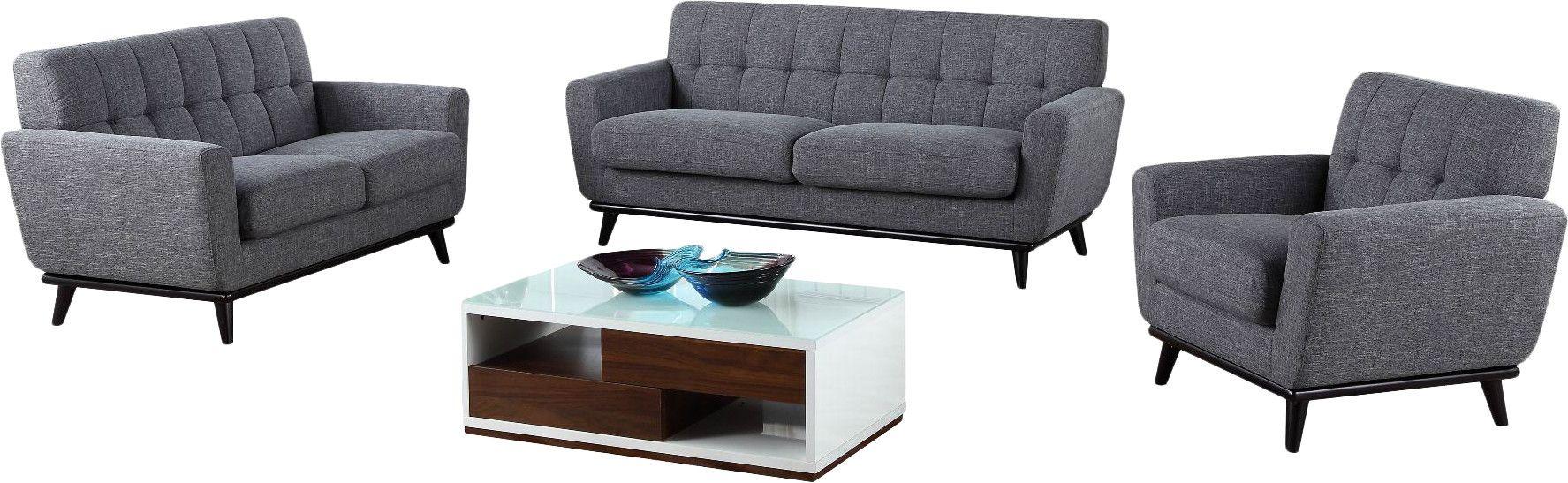 Bandera 3 Piece Living Room Set