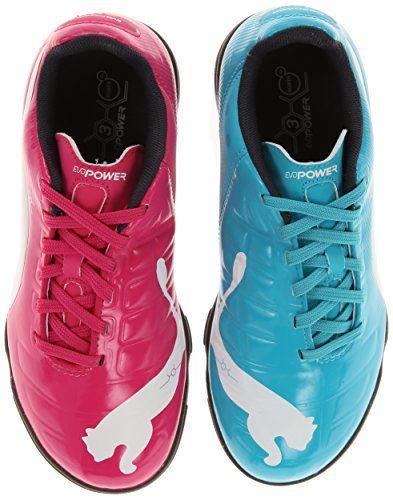 PUMA Evopower 3 Tricks Indoor JR Soccer Shoe (Little Kid/Big Kid) - http://shoes.goshopinterest.com/boys/athletic-boys/soccer-athletic-boys/puma-evopower-3-tricks-indoor-jr-soccer-shoe-little-kidbig-kid/