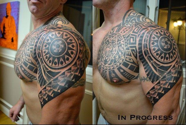 colored polynesian tattoo tattoos samoan tribal tattoo tribal tattoo cover up animal tribal. Black Bedroom Furniture Sets. Home Design Ideas