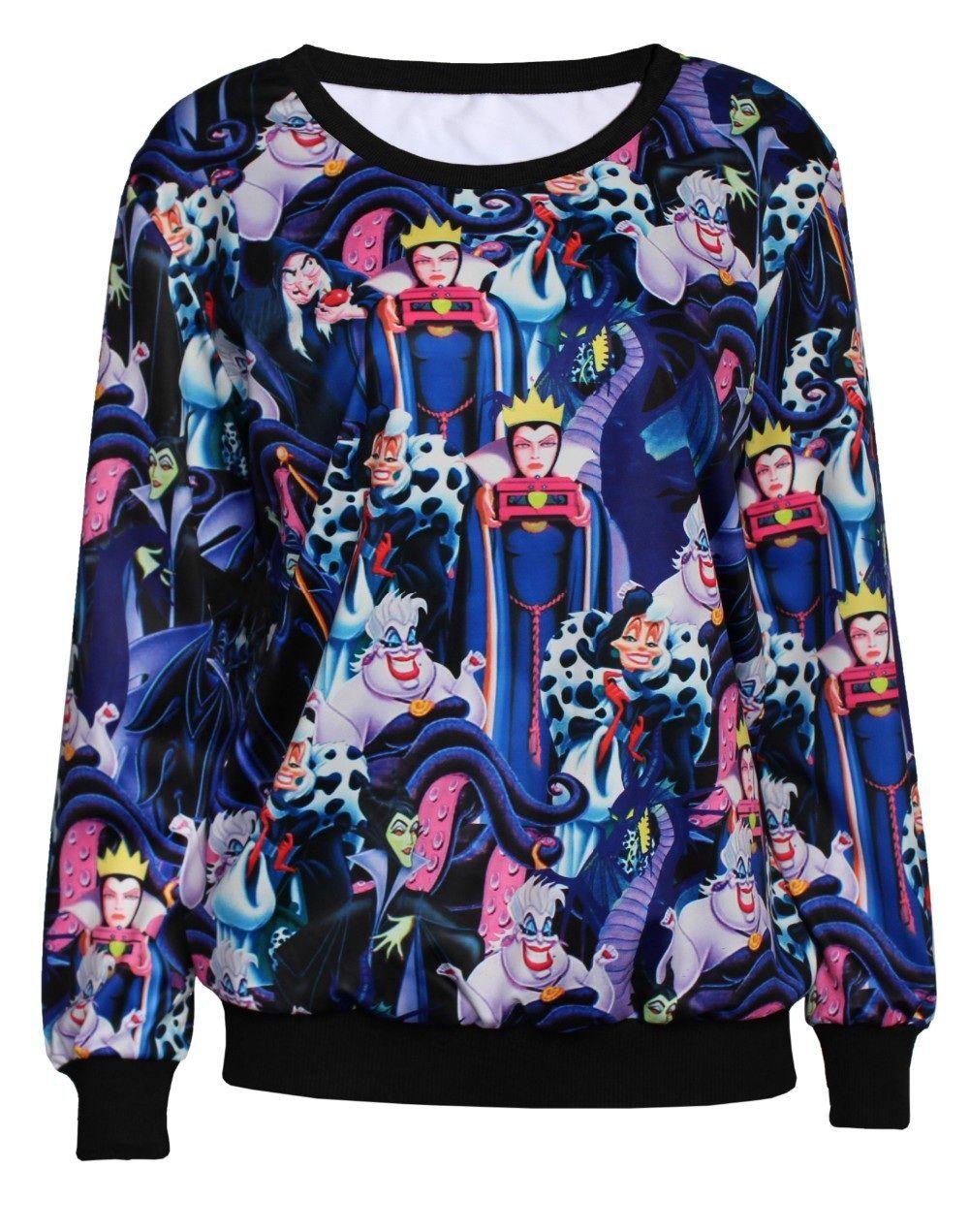 d38477c7a7066 disney villains sweatshirt - Google Search