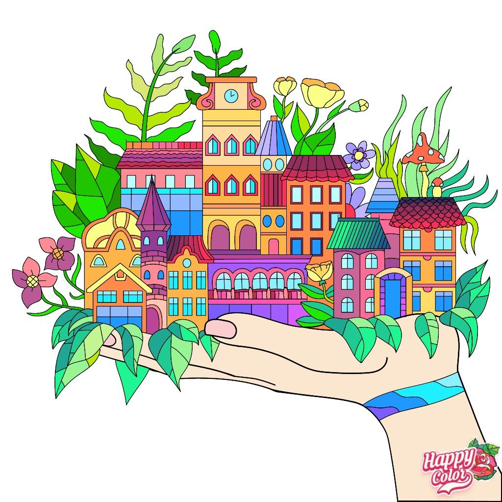 Colorbynumber Coloring Book App Happy Colors Coloring Books