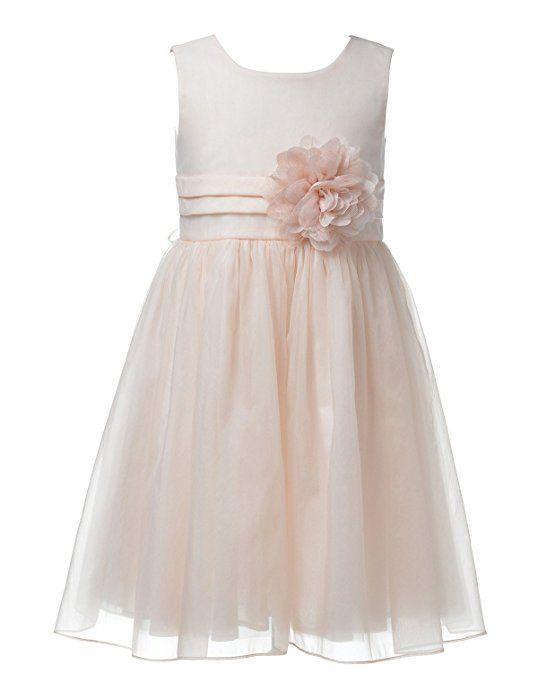 Remedios Blumenmadchenkleid Hochzeit Brautjungfern Partei Madchen Prinzessin Kleid Blasse Pfirsich Hochzeit Brautjungfern Hochzeit Kleidung Blumenmadchenkleid