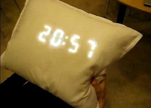 pillow alarm clock snore detector