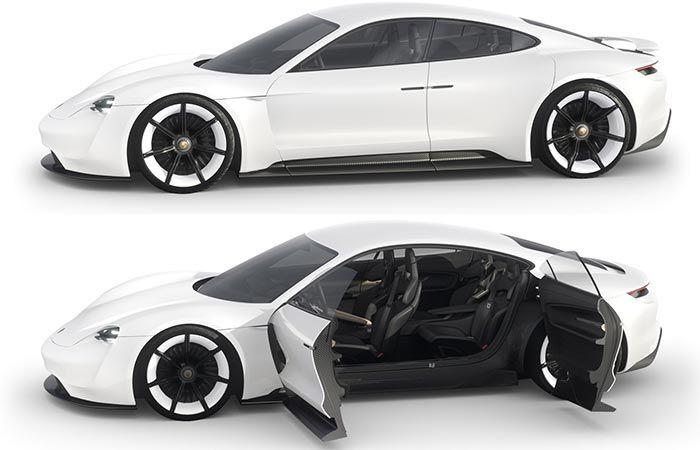 New Porsche Mission E Super Electric Car Going Into Production Porsche Mission Mission E Porsche