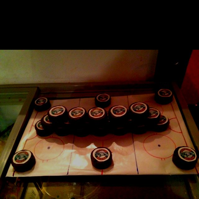 "Ding Dong ""Hockey Pucks"""