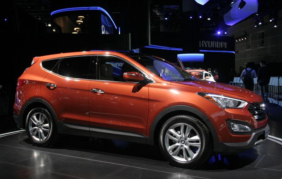 Hyundai made sure its newly redesigned 2013 Santa Fe