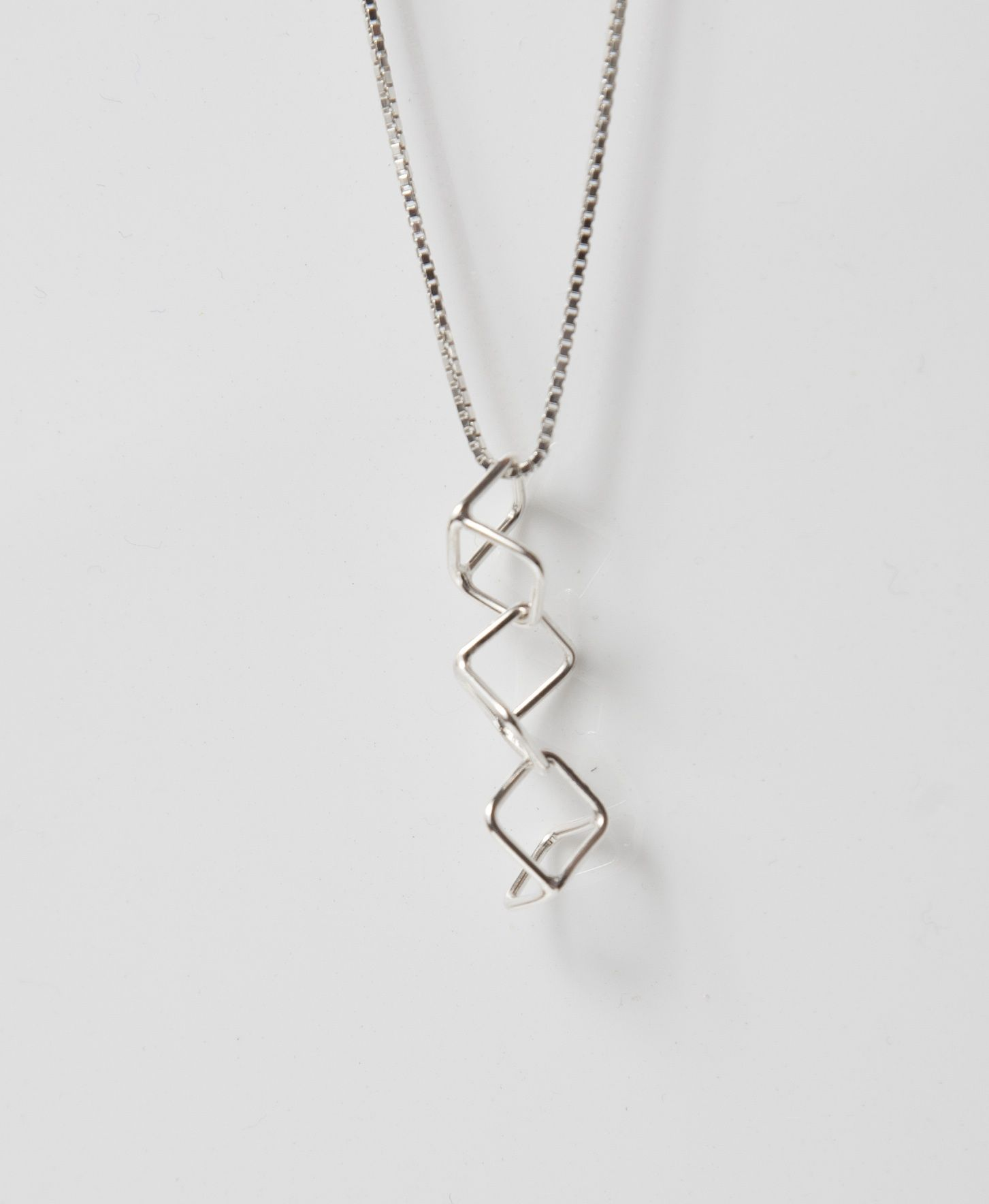 Hand made silver necklace by Frances Stunt available at Franny & Filer jewellery shop in Chorlton - www.frannyandfiler.com - £45