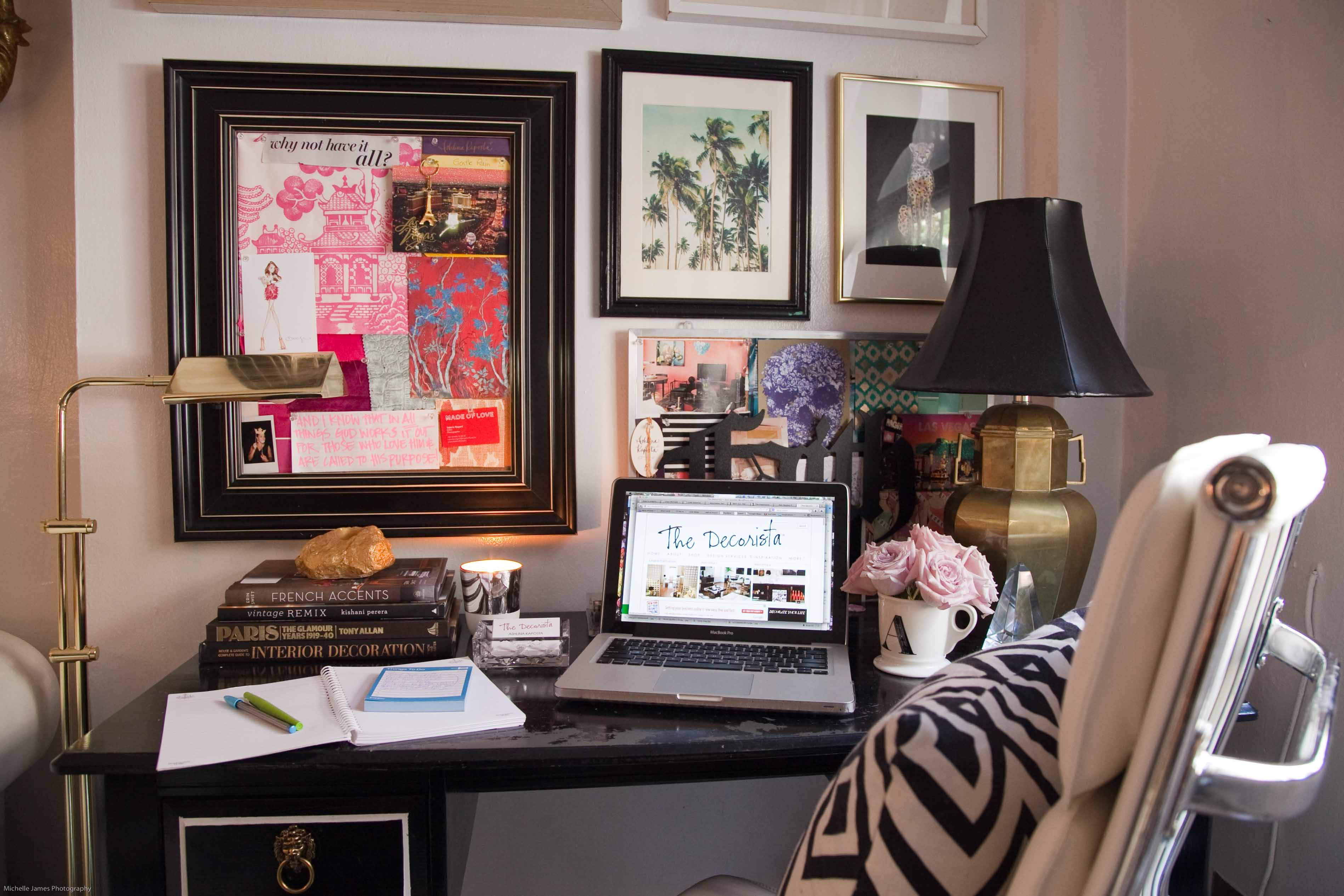 eclectic home office. the+decorista\u0027s+eclectic+++glam+home+office eclectic home office l