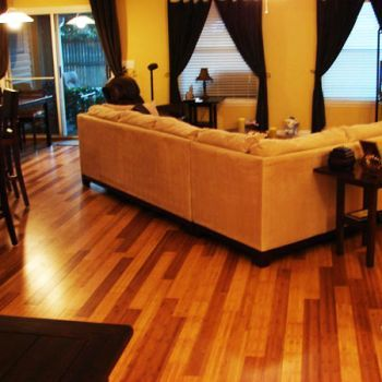 This Bamboo Floor Is As Attractive And Functional As A Traditional - Are bamboo floors expensive